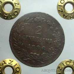 Umb. I - 2 Cent 1896 R R2