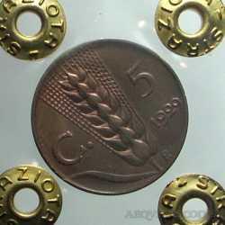 Vitt. Eman. III - 5 Cent 1929