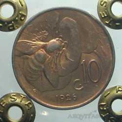 Vitt. Eman. III - 10 Cent 1926