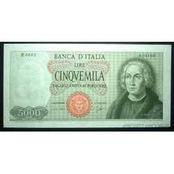 5000 Lire 1964 Colombo 1 Caravella