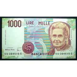 1000 Lire Montessori 1998