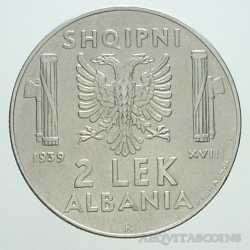 Albania - 2 LEK 1939 Magn
