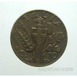 Vitt. Eman. III - 10 Cent 1942