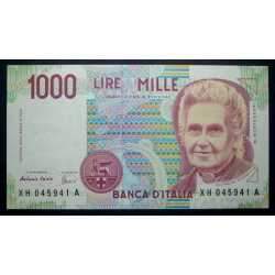 1.000 Lire Montessori 2001 XH