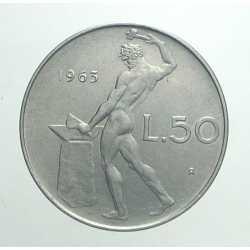50 Lire 1963