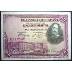 Espana - 50 Pesetas 1928