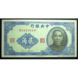 China -  20 Cents 1931