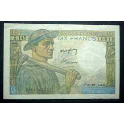 France - 10 Francs 1947