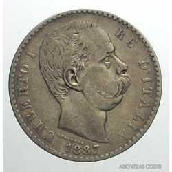 Umberto I - 2 Lire 1887