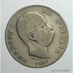 Umberto I - 1 Lira 1887