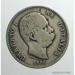 Umberto I - 1 Lira 1886