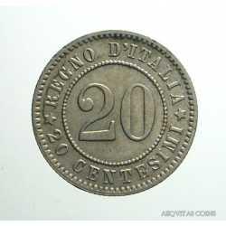 Umberto I - 20 Cent 1894 KB