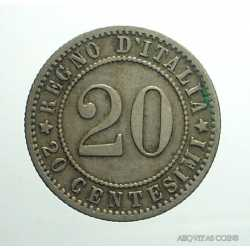 Umberto I - 20 Cent 1894 R
