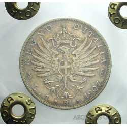 Vitt. Eman. III - 1 Lira 1907