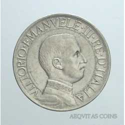 Vitt. Eman. III - 1 Lira 1908 R