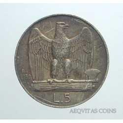 Vitt. Eman. III - 5 Lire 1930 B.L.D.