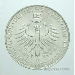 Germany - 5 Mark 1968 D