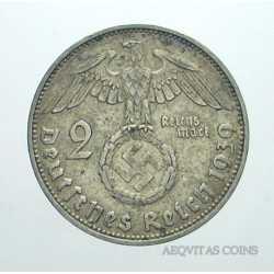 Germany - 2 ReichsMark 1939 J
