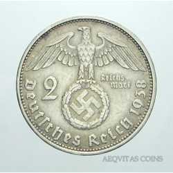 Germany - 2 ReichsMark 1938 A