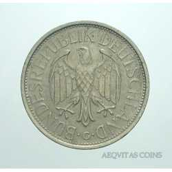 Germany - 1 Mark 1972 G
