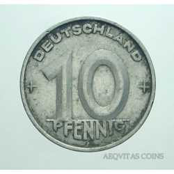 Germany -  10 Pfennig 1950 A