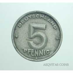 Germany -  5 Pfennig 1949 A