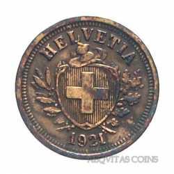 Switzerland - 1 Rappen 1921