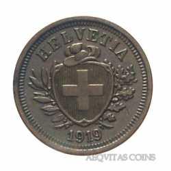 Switzerland - 1 Rappen 1919