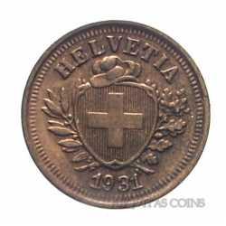 Switzerland - 1 Rappen 1931