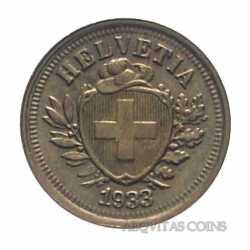 Switzerland - 1 Rappen 1933