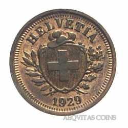 Switzerland - 1 Rappen 1929