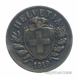 Switzerland - 2 Rappen 1919