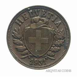 Switzerland - 2 Rappen 1931