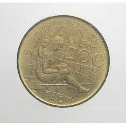 200 Lire 1980 - FAO Montessori