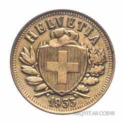 Switzerland - 2 Rappen 1933