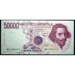 50.000 Lire Bernini 1990