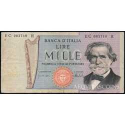 1.000 Lire G. Verdi II 1975