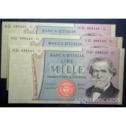 1.000 Lire G. Verdi II 1980