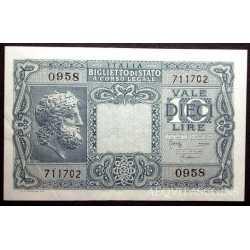10 Lire 1944