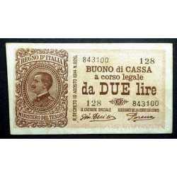 2 Lire 1921