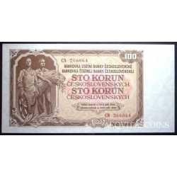 Czechoslovakia - 100 Korun 1953