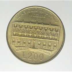 200 Lire 1990 - Consiglio di Stato