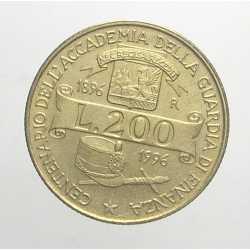 200 Lire 1996 - Accademia