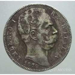 Umberto I - 5 Lire 1879