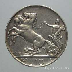 Vitt. Eman. III - 10 Lire 1927  2 R.