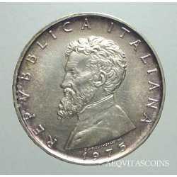 500 Lire M. Buonarroti 1975 FDC