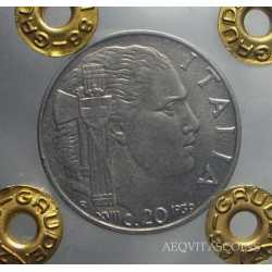 Vitt. Eman. III - 20 Cent 1939 Magn.