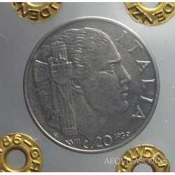 Vitt. Eman. III - 20 Cent 1939 A.M.