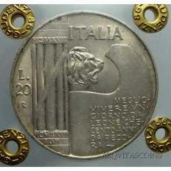 Vitt. Eman. III - 20 Lire 1928  Elm