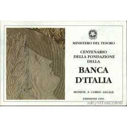 100 200 500 Lire Banca D'Italia 1993